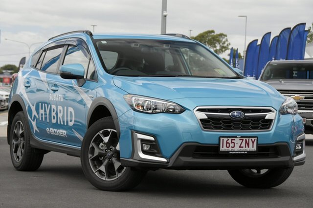 Demo Subaru XV G5X MY20 Hybrid Lineartronic AWD Aspley, 2019 Subaru XV G5X MY20 Hybrid Lineartronic AWD Lagoon Blue 7 Speed Constant Variable Wagon Hybrid