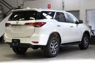 2016 Toyota Fortuner GUN156R Crusade White 6 Speed Manual Wagon