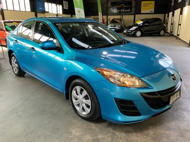 Used Mazda 3 BL Neo Hampstead Gardens, 2009 Mazda 3 BL Neo Blue 5 Speed Automatic Hatchback