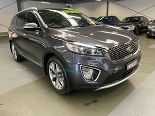 2016 Kia Sorento UM MY16 Platinum AWD Grey 6 Speed Sports Automatic Wagon.