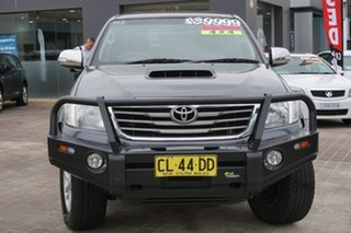 2013 Toyota Hilux KUN26R MY14 SR5 Double Cab Grey 5 Speed Automatic Utility.