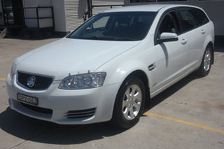 2011 Holden Commodore VE II MY12 Omega Sportwagon White 6 Speed Sports Automatic Wagon.