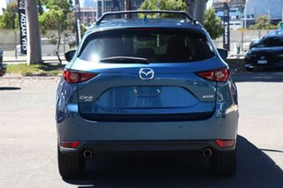 2017 Mazda CX-5 KF4WLA GT SKYACTIV-Drive i-ACTIV AWD Eternal Blue 6 Speed Sports Automatic Wagon