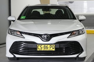 2018 Toyota Camry ASV70R Ascent White 6 Speed Automatic Sedan
