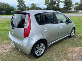 2010 Mitsubishi Colt RG MY09 VR-X Silver 1 Speed Constant Variable Hatchback