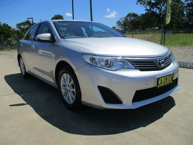 Used Toyota Camry ASV50R Altise Glendale, 2013 Toyota Camry ASV50R Altise Silver 6 Speed Sports Automatic Sedan