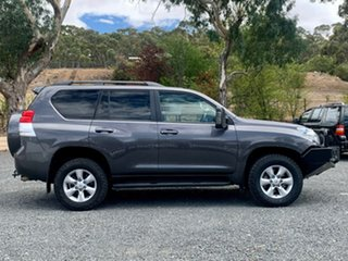2013 Toyota Landcruiser Prado KDJ150R Altitude Grey 5 Speed Sports Automatic Wagon
