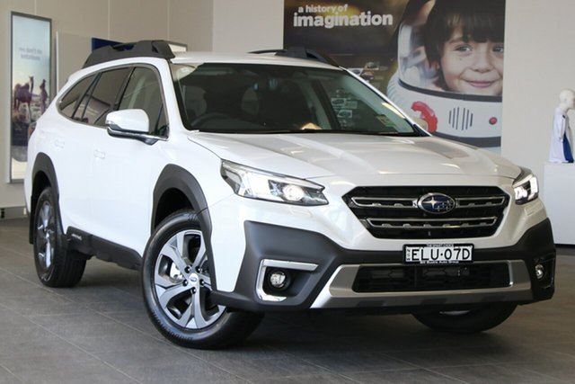 Demo Subaru Outback MY21 AWD Brookvale, 2020 Subaru Outback MY21 AWD Crystal White Continuous Variable Wagon