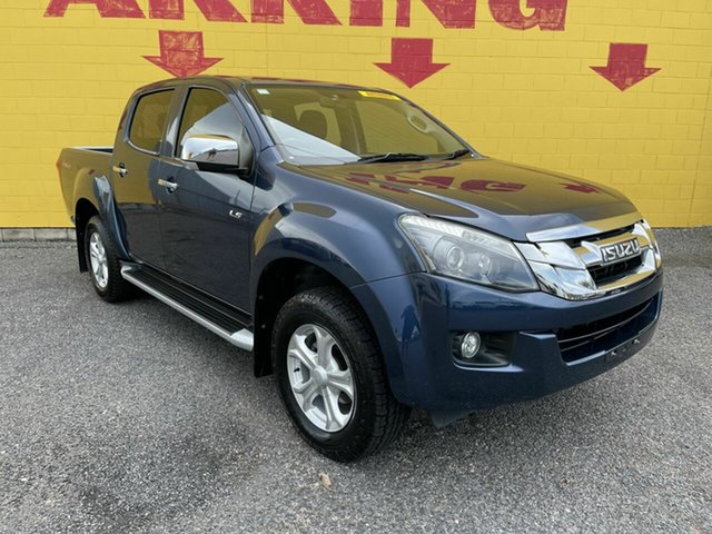 Used Isuzu D-MAX MY15 LS-M Crew Cab Winnellie, 2016 Isuzu D-MAX MY15 LS-M Crew Cab Blue 5 Speed Sports Automatic Utility