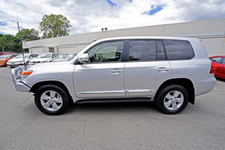 2013 Toyota Landcruiser VDJ200R MY12 Sahara Silver 6 Speed Sports Automatic Wagon