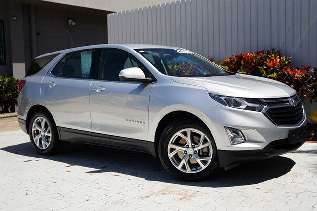 Used Holden Equinox EQ MY18 LT FWD Cairns, 2018 Holden Equinox EQ MY18 LT FWD Silver 9 Speed Sports Automatic Wagon