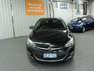 2013 Opel Astra AS Sport Black 6 Speed Manual Hatchback.