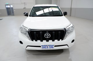 2017 Toyota Landcruiser Prado GDJ150R GX White 6 Speed Sports Automatic Wagon.