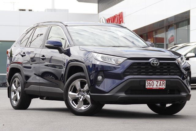 Pre-Owned Toyota RAV4 Mxaa52R GXL 2WD Woolloongabba, 2019 Toyota RAV4 Mxaa52R GXL 2WD Saturn Blue 10 Speed Constant Variable Wagon