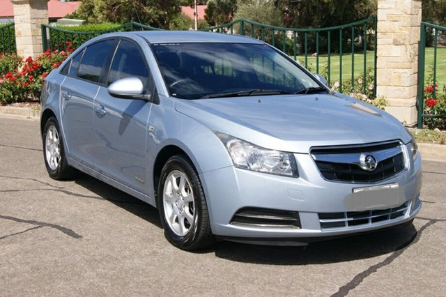 Used Holden Cruze JG CD Blair Athol, 2011 Holden Cruze JG CD Blue 6 Speed Automatic Sedan