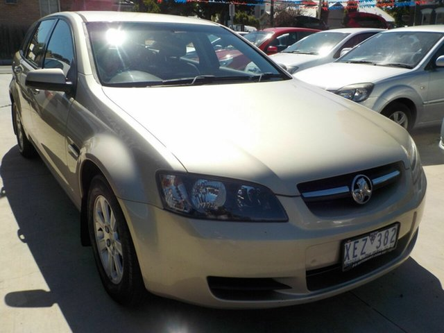 Used Holden Commodore VE MY09.5 Omega Newtown, 2009 Holden Commodore VE MY09.5 Omega Gold 4 Speed Automatic Sportswagon