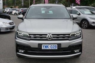 2017 Volkswagen Tiguan 5N MY17 162TSI DSG 4MOTION Highline Tungsten Silver 7 Speed.