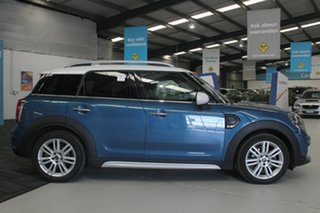 2017 Mini Cooper F54 Clubman Blue 6 Speed Automatic Wagon