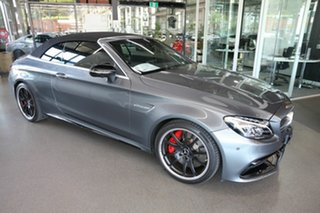 2016 Mercedes-Benz C-Class A205 C63 AMG SPEEDSHIFT MCT S Grey 7 Speed Sports Automatic Cabriolet