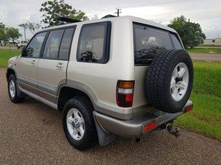 2000 Holden Jackaroo U8 MY00 SE Gold 5 Speed Manual Wagon
