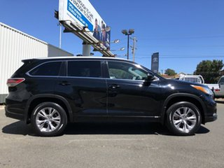 2014 Toyota Kluger GSU50R GXL 2WD Black 6 Speed Sports Automatic Wagon