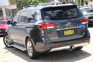 2016 Kia Carnival YP MY16 Update Platinum Silver Sky 6 Speed Automatic Wagon.