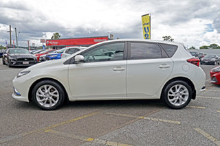 2016 Toyota Corolla ZRE182R Ascent Sport S-CVT White 7 Speed Constant Variable Hatchback