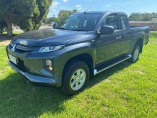 2020 Mitsubishi Triton MR MY21 Glx+ (4x4) Grey 6 Speed Automatic Club Cab Pickup.