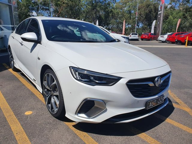 Used Holden Commodore ZB MY18 VXR Liftback AWD Epsom, 2018 Holden Commodore ZB MY18 VXR Liftback AWD White 9 Speed Sports Automatic Liftback