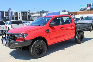 2016 Ford Ranger PX MkII XL Red 6 Speed Sports Automatic Cab Chassis