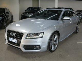 2010 Audi A5 8T MY11 Sportback S Tronic Quattro Silver 7 Speed Sports Automatic Dual Clutch.