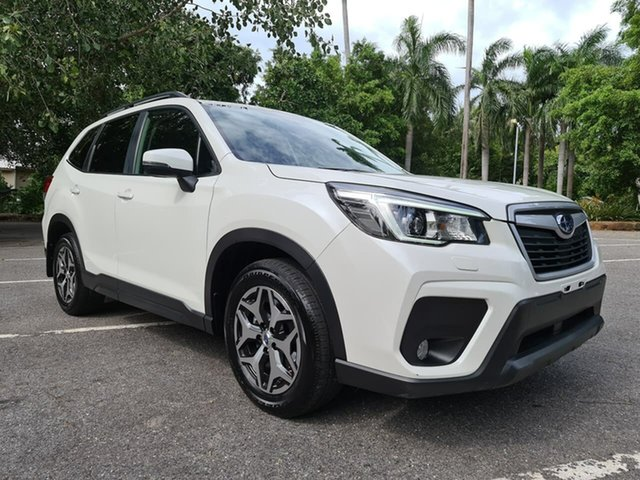 Used Subaru Forester S5 MY19 2.5i CVT AWD Stuart Park, 2019 Subaru Forester S5 MY19 2.5i CVT AWD White 7 Speed Constant Variable Wagon