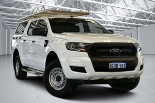 2017 Ford Ranger PX MkII XL Hi-Rider Cool White 6 Speed Sports Automatic Utility.