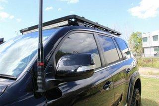 2020 Toyota Landcruiser VDJ200R Sahara Black 6 Speed Sports Automatic Wagon