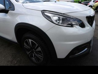 2019 Peugeot 2008 MY18.5 Allure Pearl White 6 Speed Automatic Wagon