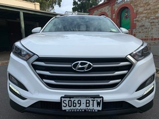 2017 Hyundai Tucson TL2 MY18 Active 2WD Pure White 6 Speed Sports Automatic Wagon