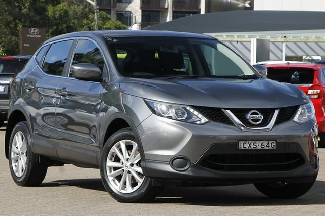 Used Nissan Qashqai J11 ST Rosebery, 2015 Nissan Qashqai J11 ST Grey 6 Speed Manual Wagon