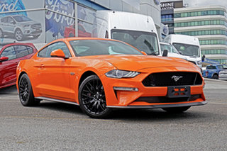 2019 Ford Mustang FN 2019MY GT Orange 6 Speed Manual Fastback.