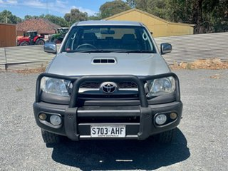 2010 Toyota Hilux KUN26R MY10 SR5 Silver 5 Speed Manual Utility.