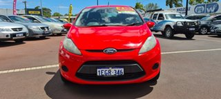 2013 Ford Fiesta WT LX Red 5 Speed Manual Hatchback.