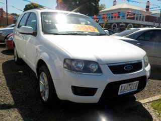 2009 Ford Territory SY MkII TX (RWD) White 4 Speed Auto Seq Sportshift Wagon.