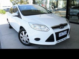 2013 Ford Focus LW MK2 Ambiente White 5 Speed Manual Sedan.