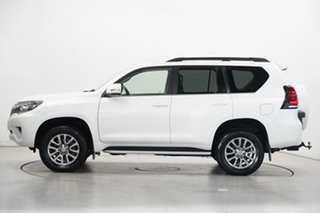 2018 Toyota Landcruiser Prado GDJ150R VX Pearl White 6 Speed Sports Automatic Wagon