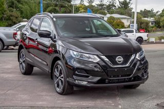 2019 Nissan Qashqai J11 Series 2 ST-L X-tronic Pearl Black 1 Speed Constant Variable Wagon