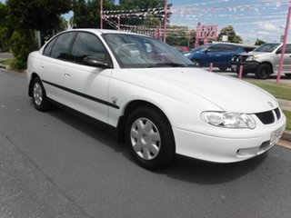 2002 Holden Commodore VX II Exec White 4 Speed Automatic Sedan.
