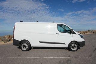 2014 Ford Transit Custom VN 330L Low Roof LWB White 6 Speed Manual Van.