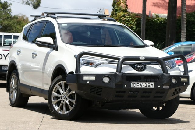 Pre-Owned Toyota RAV4 ALA49R MY18 Cruiser (4x4) Mosman, 2017 Toyota RAV4 ALA49R MY18 Cruiser (4x4) Crystal Pearl 6 Speed Automatic Wagon