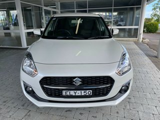 2020 Suzuki Swift GL Navigator Pure White Pearl Constant Variable Hatchback.