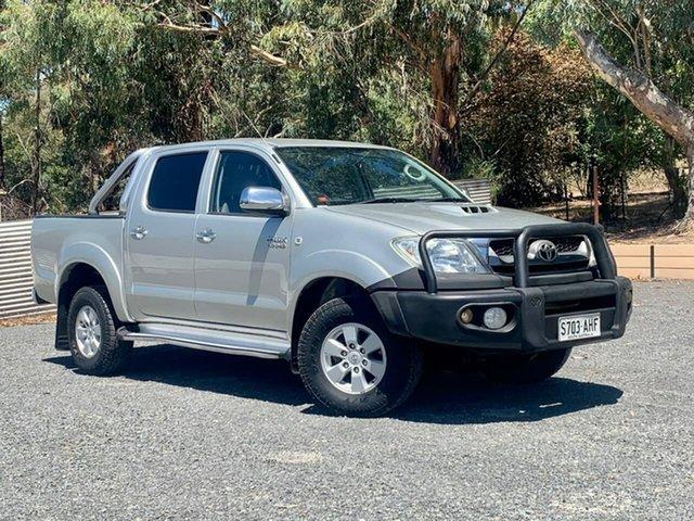 Used Toyota Hilux KUN26R MY10 SR5 Clare, 2010 Toyota Hilux KUN26R MY10 SR5 Silver 5 Speed Manual Utility
