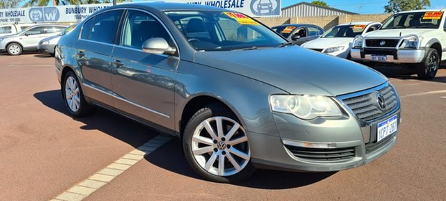 Used Volkswagen Passat Type 3C MY07 TDI DSG East Bunbury, 2007 Volkswagen Passat Type 3C MY07 TDI DSG Green 6 Speed Sports Automatic Dual Clutch Sedan